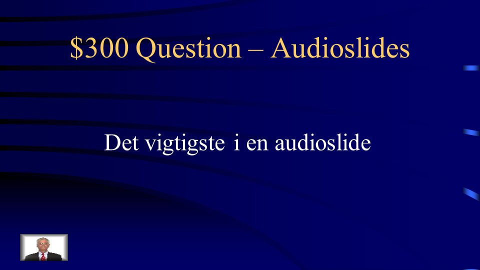 $200 Answer – Audioslides Hvad er podcasts