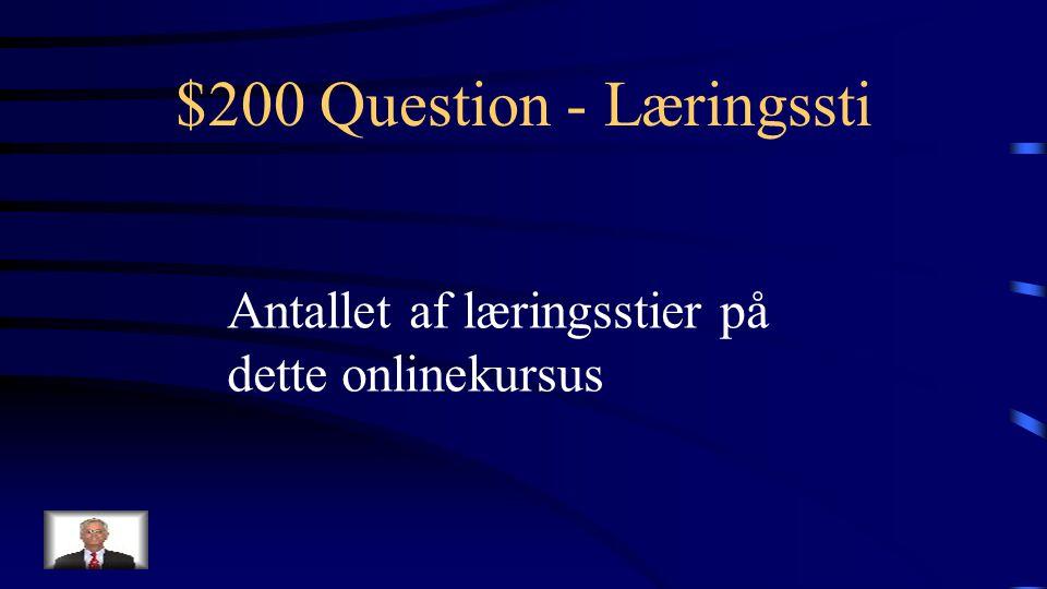 $100 Answer - Læringssti Hvad er E-tivities