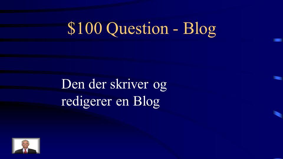 $500 Answer - WIKI Hvad er WikiSpaces