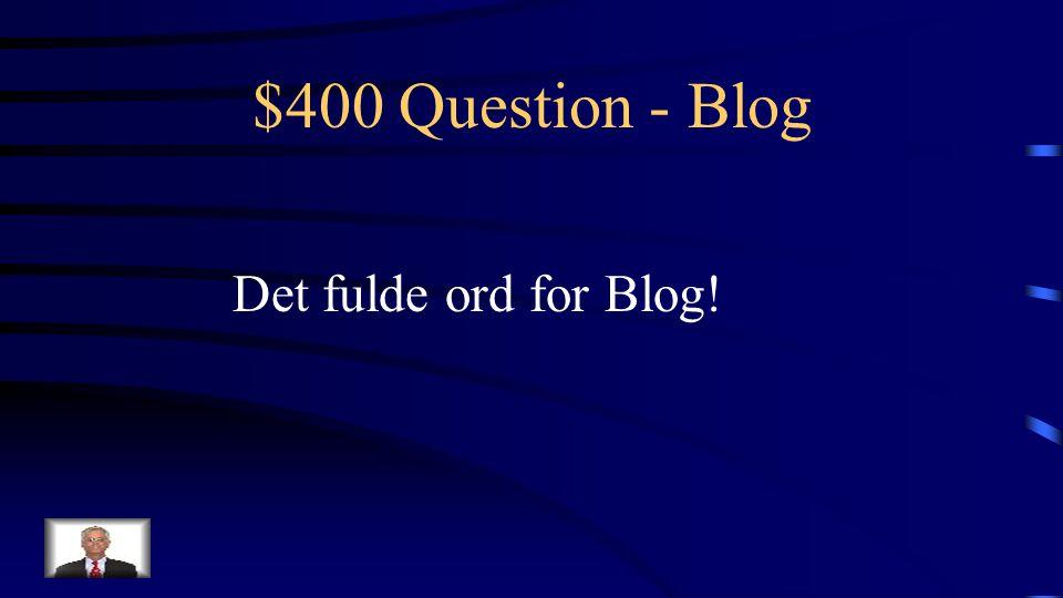 $300 Answer - Blog Hvad er Trin 3: Udveksle og dele information