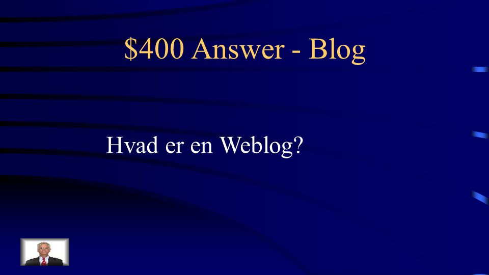 $400 Question - Blog Det fulde ord for Blog!