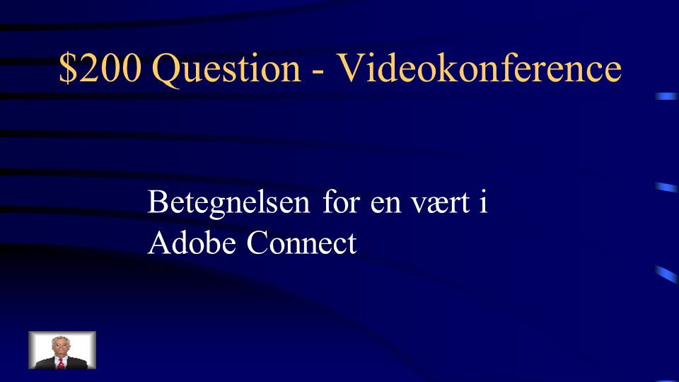 $100 Answer - Videokonference Hvad er Adobe Connect