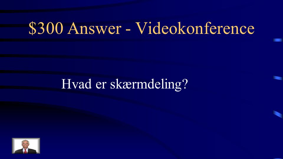 $300 Question - Videokonference Fælles tilgang til produktion og revidering af dokumenter i Adobe Connect