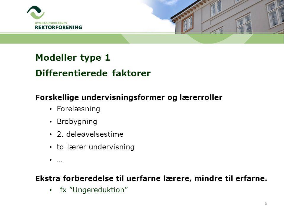 Forskellige undervisningsformer og lærerroller Forelæsning Brobygning 2.