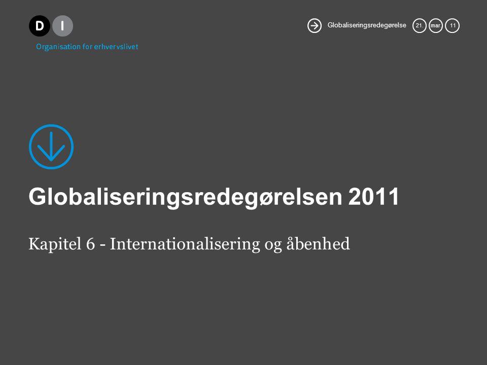 Globaliseringsredegørelse 21.mar.