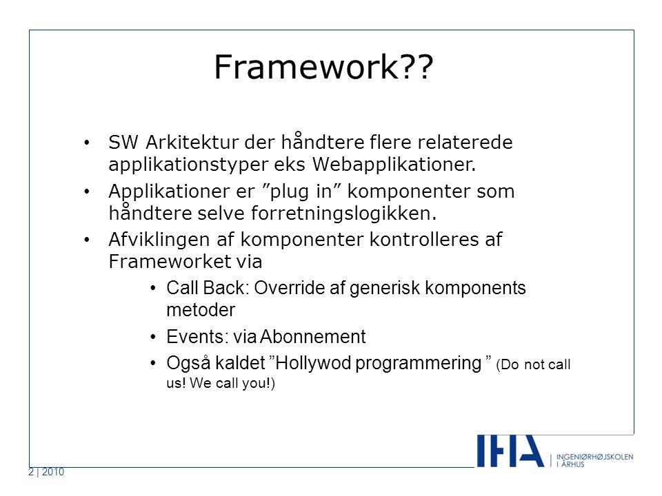 Framework .