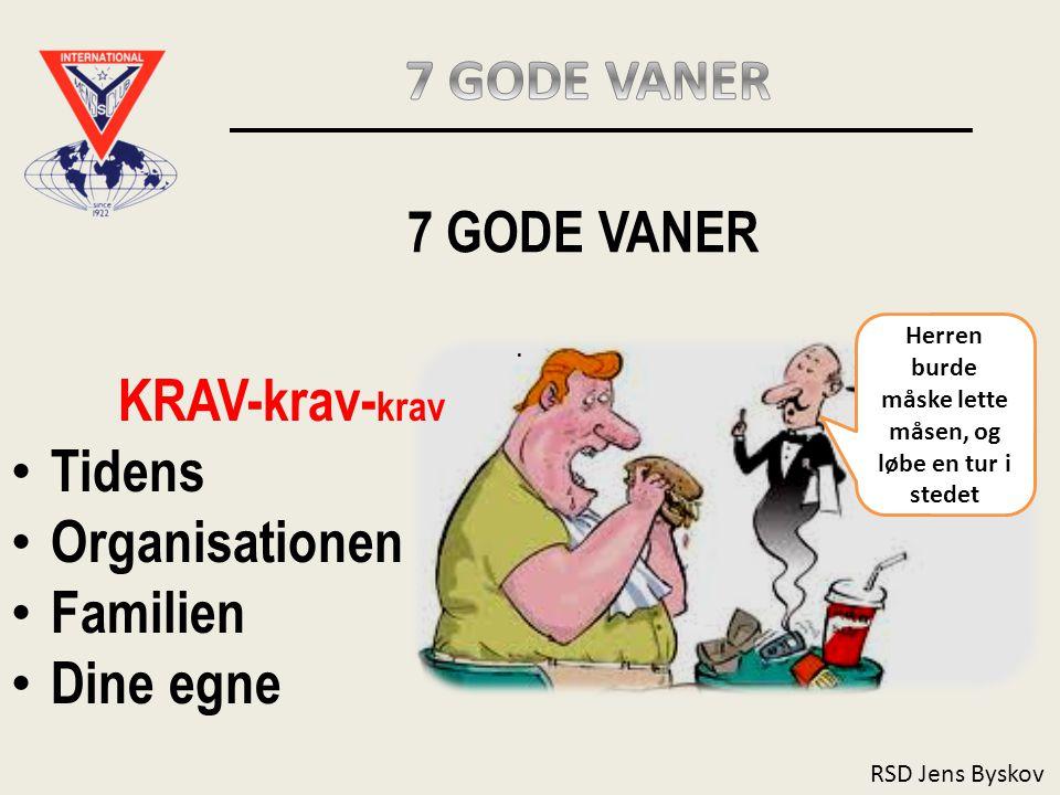 RSD Jens Byskov 7 GODE VANER.