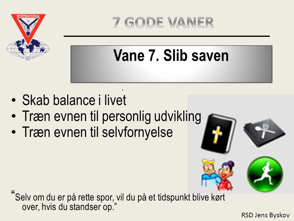 RSD Jens Byskov Vane 7.Slib saven.