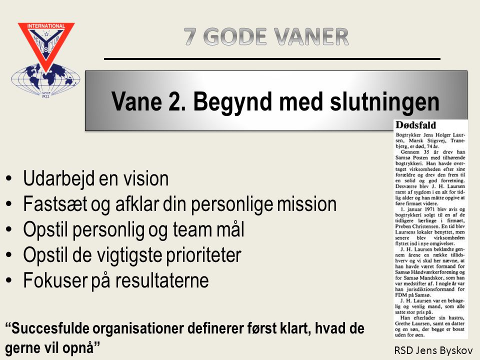 RSD Jens Byskov Vane 2.