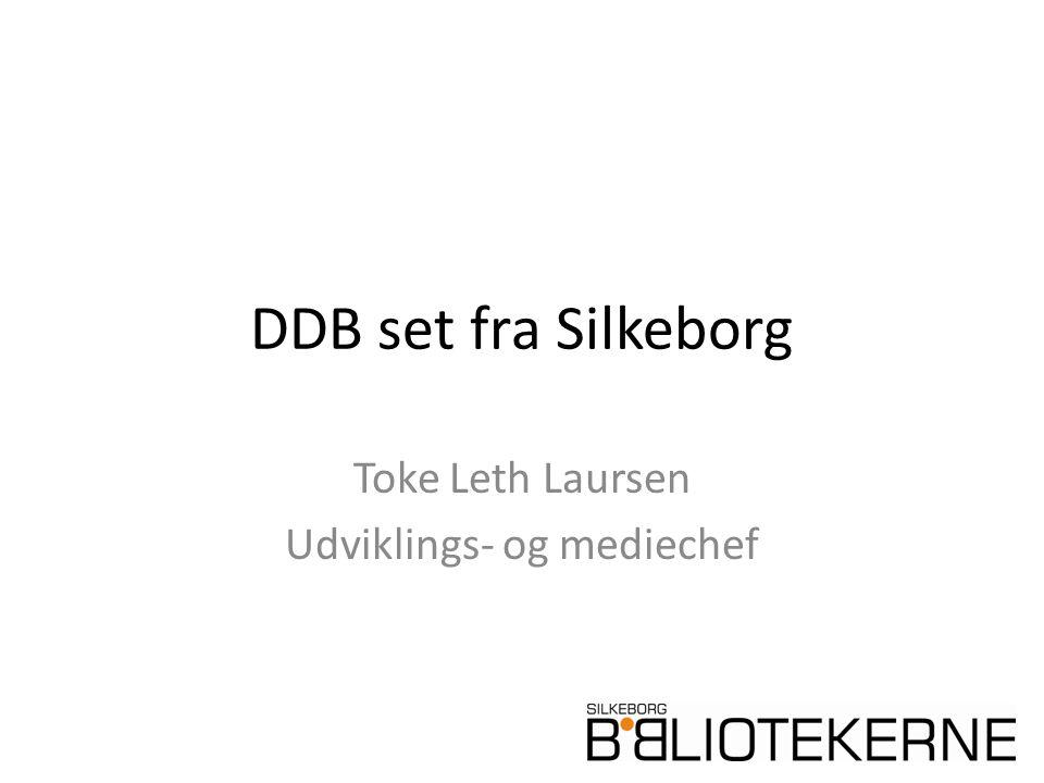 DDB set fra Silkeborg Toke Leth Laursen Udviklings- og mediechef
