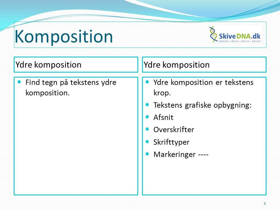 Komposition - cirkelhistorie 13
