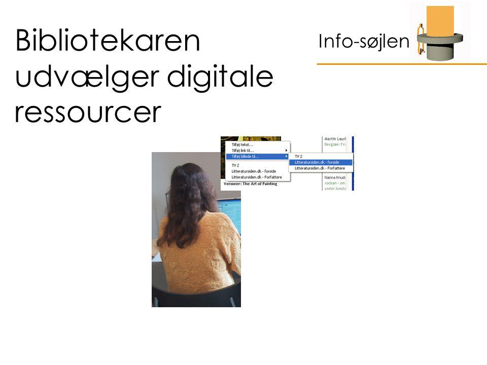 Bibliotekaren udvælger digitale ressourcer