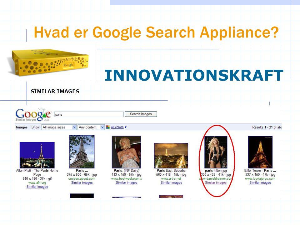Hvad er Google Search Appliance.