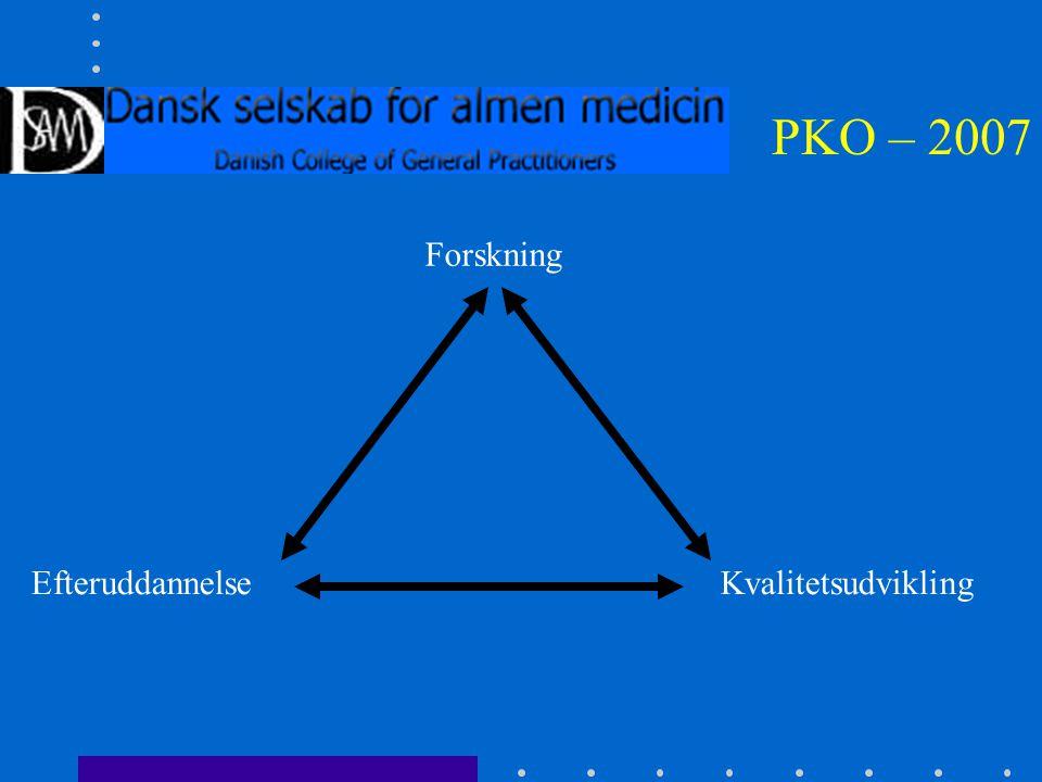 PKO – 2007 Forskning KvalitetsudviklingEfteruddannelse