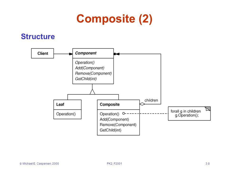  Michael E. Caspersen, 2000PK2, F20013.8 Composite (2) Structure