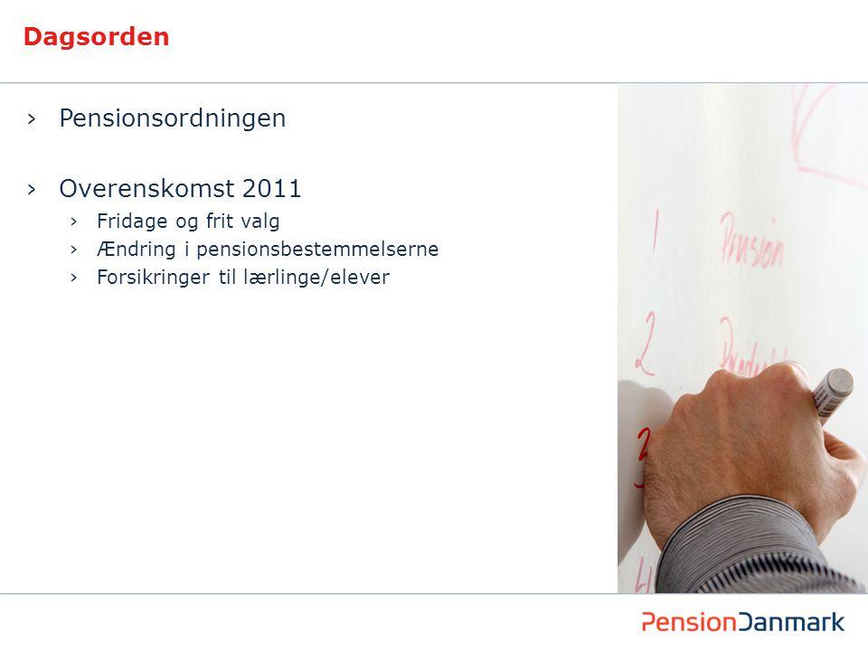 Korte guidelines: Dagsorden Brug til at vise en dagsorden for præsentationen.