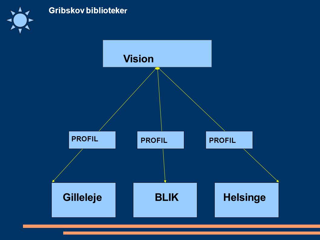 Vision BLIKHelsingeGilleleje Gribskov biblioteke r PROFIL