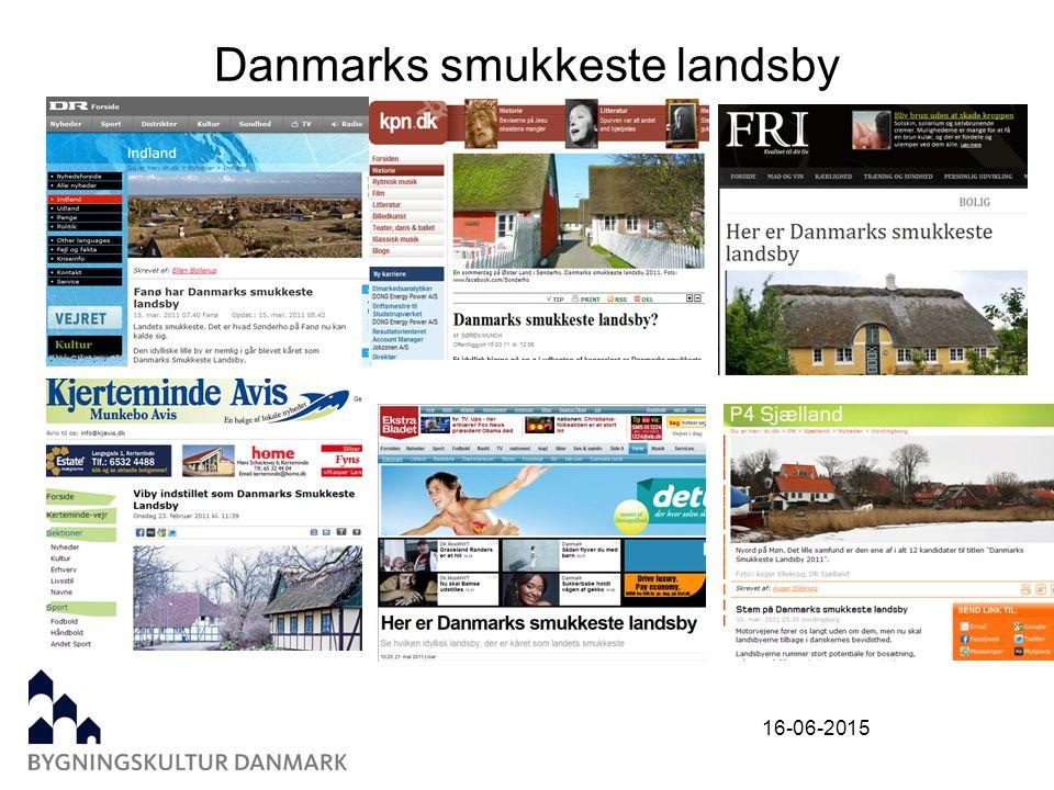 16-06-2015 Danmarks smukkeste landsby