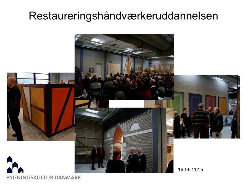 16-06-2015 Restaureringshåndværkeruddannelsen