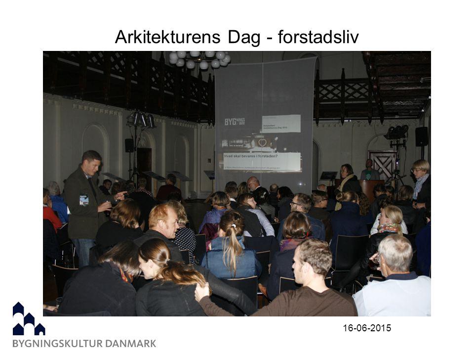 Arkitekturens Dag - forstadsliv