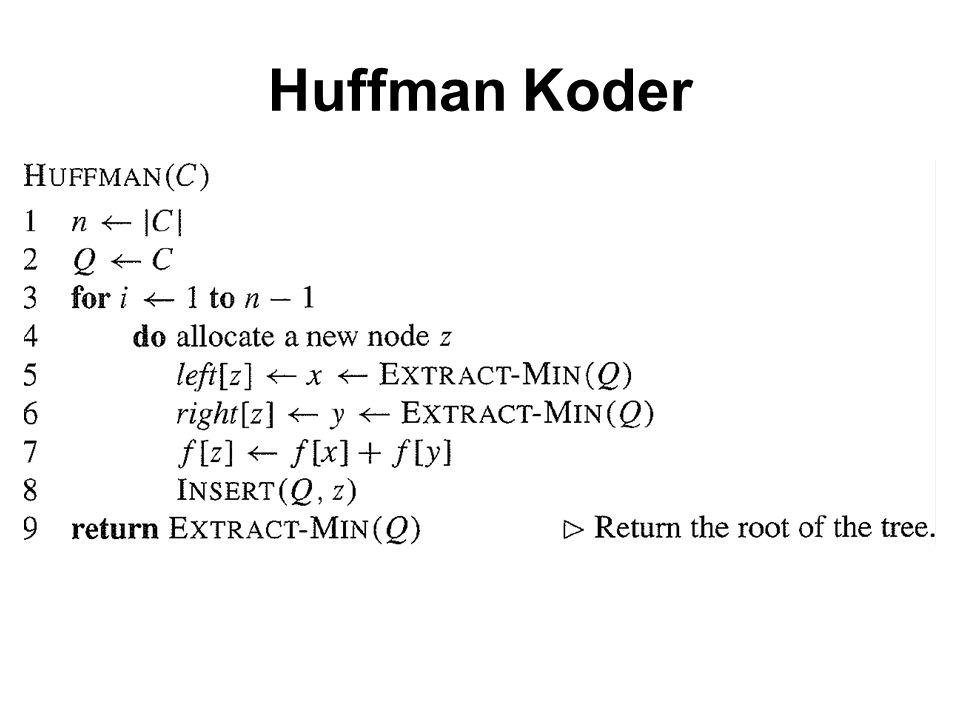 Huffman Koder