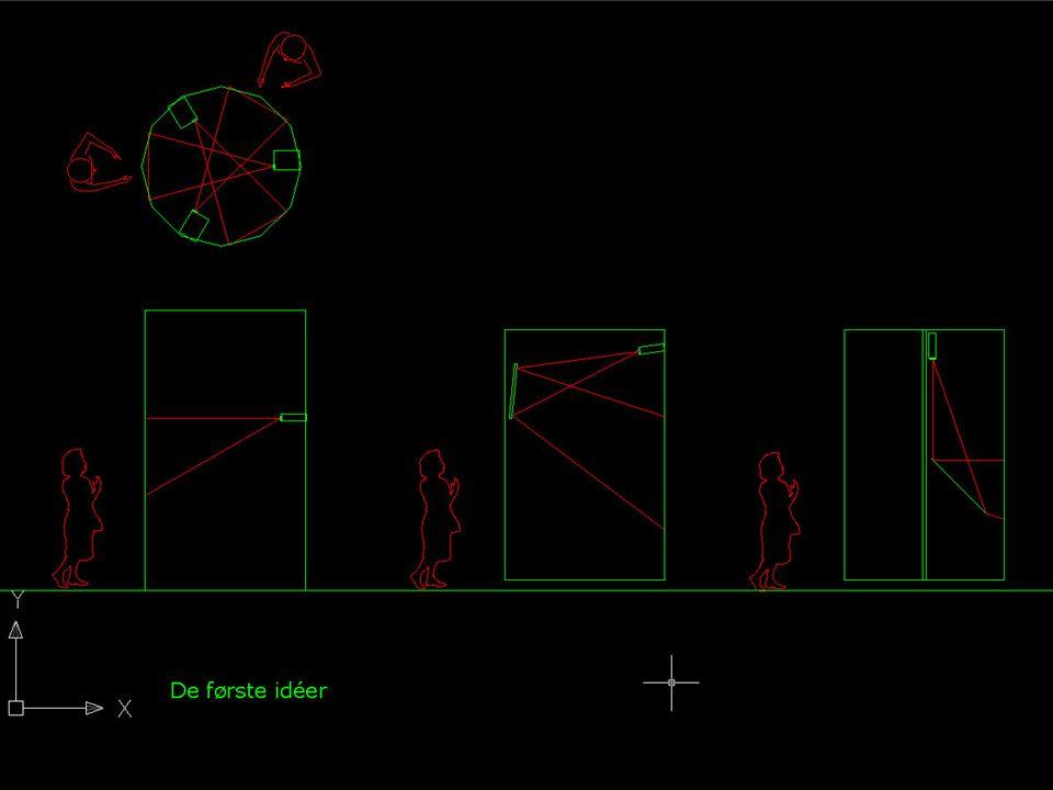 Projektioner Info-søjlen