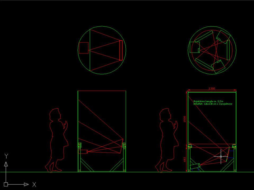 Projektioner 2 Info-søjlen
