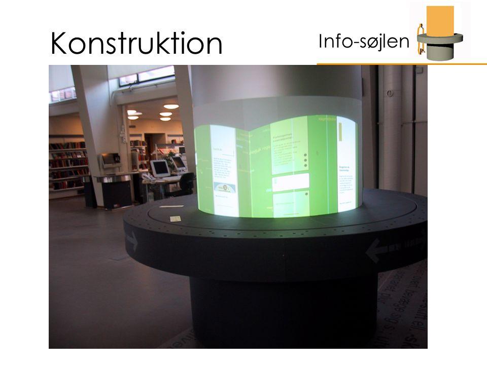 Konstruktion Info-søjlen