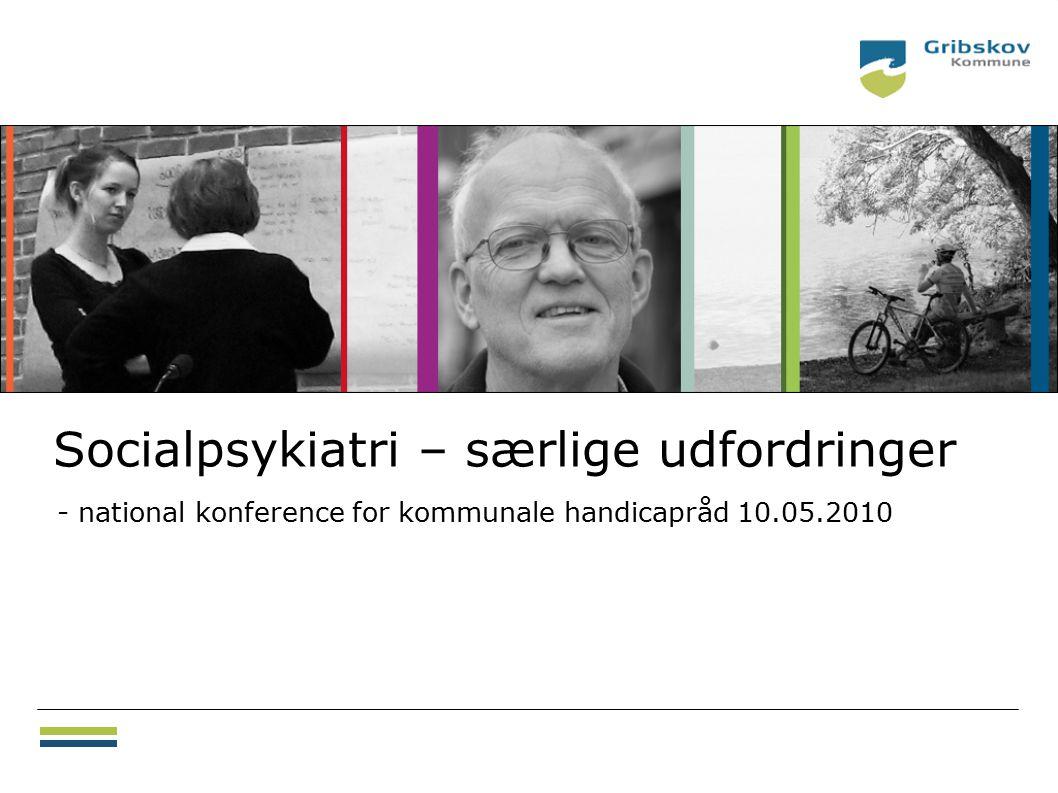 Socialpsykiatri – særlige udfordringer - national konference for kommunale handicapråd 10.05.2010 18.