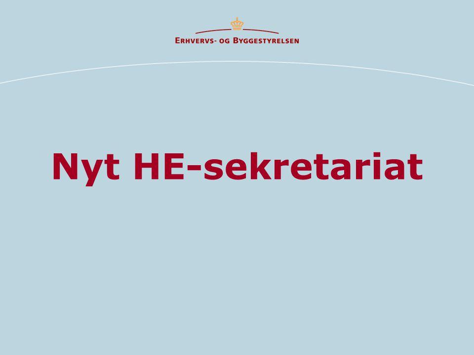 Nyt HE-sekretariat