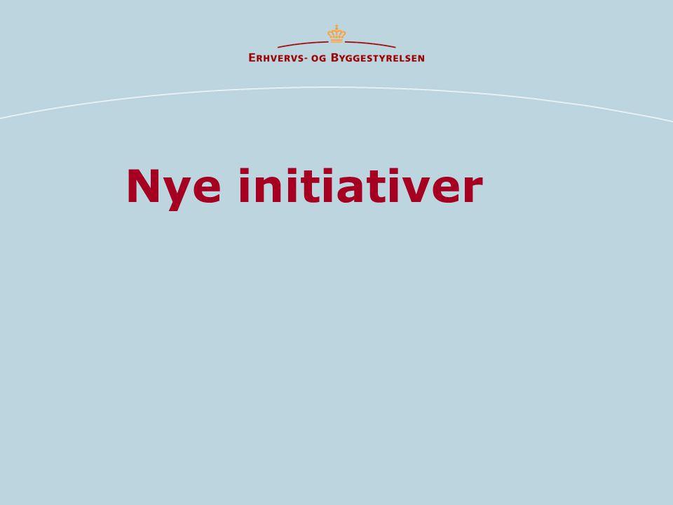 Nye initiativer