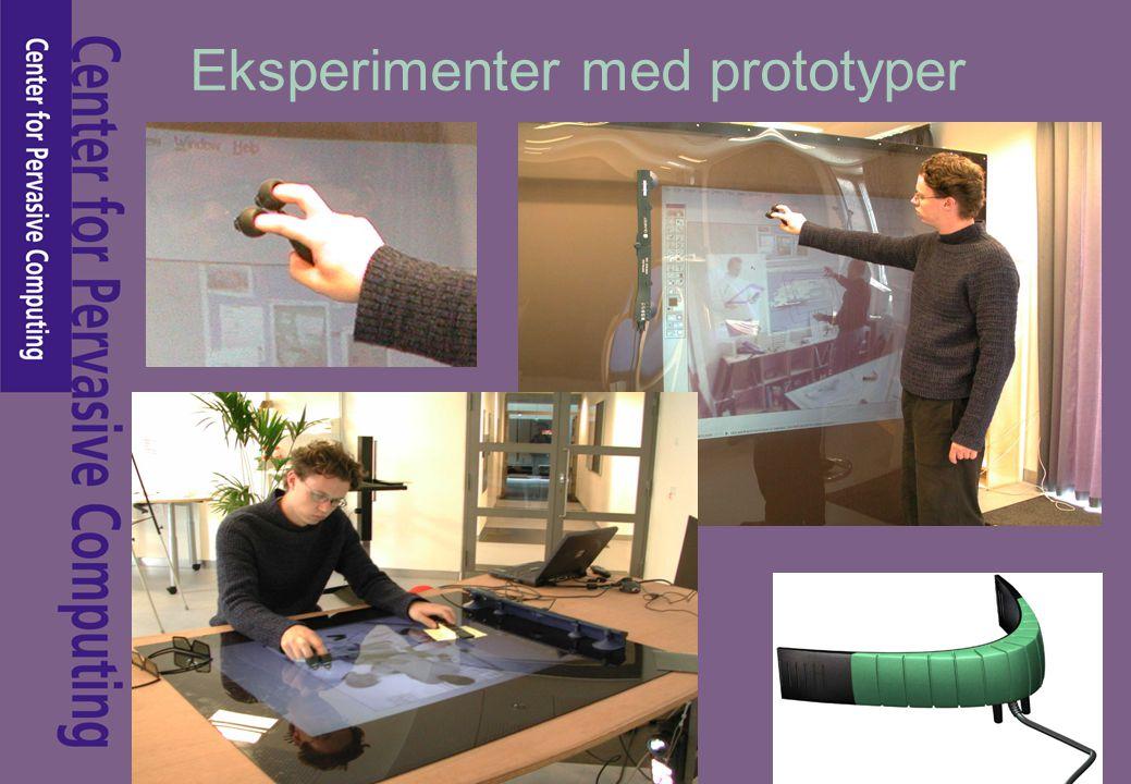 Eksperimenter med prototyper