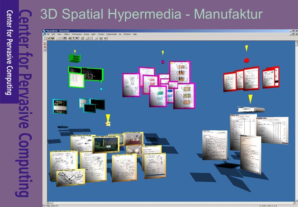 3D Spatial Hypermedia - Manufaktur