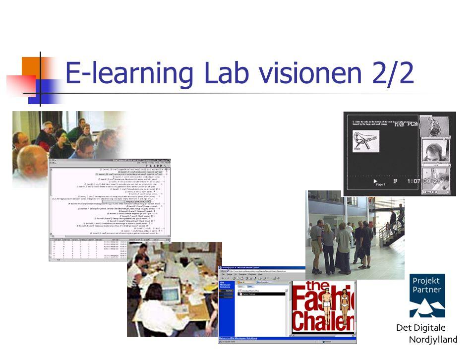E-learning Lab visionen 2/2