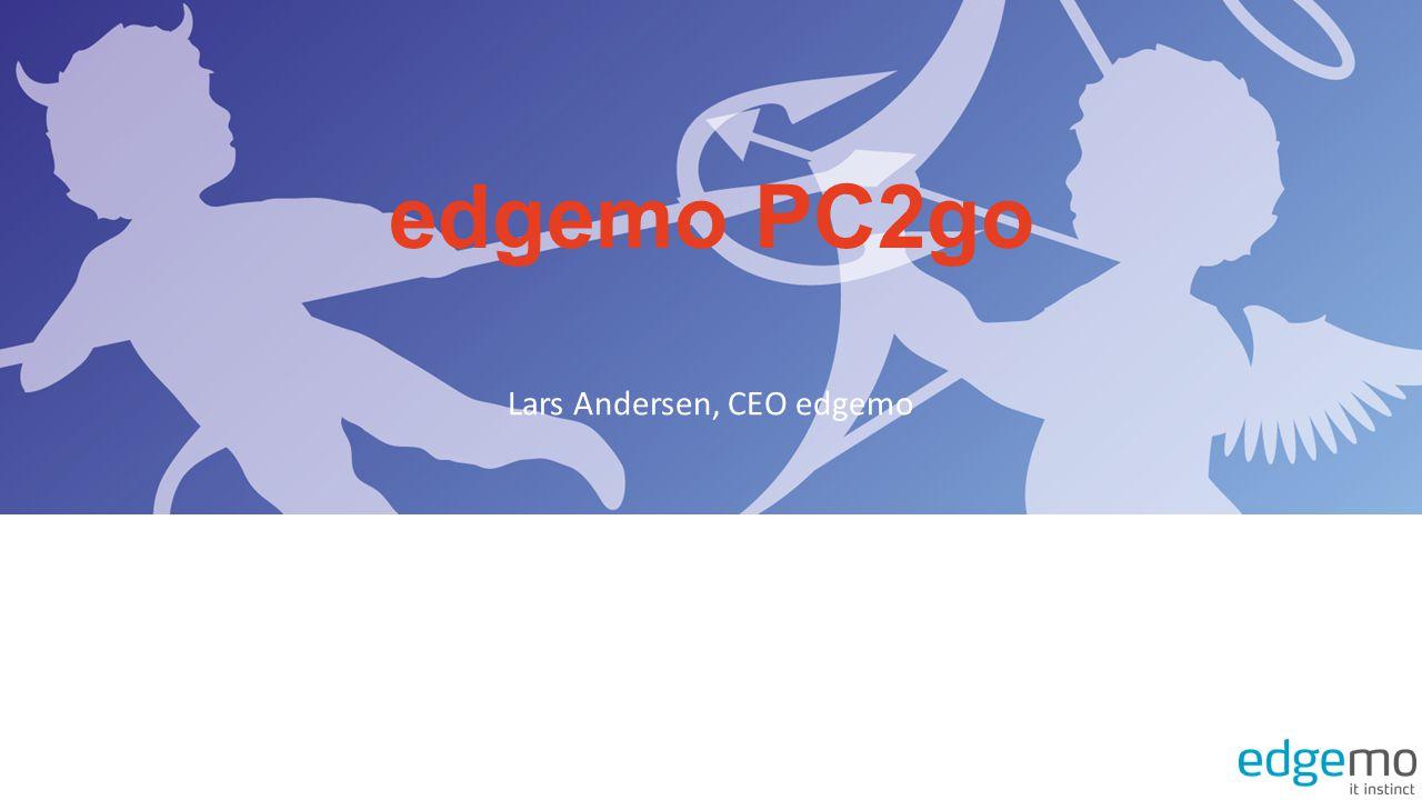 edgemo PC2go Lars Andersen, CEO edgemo