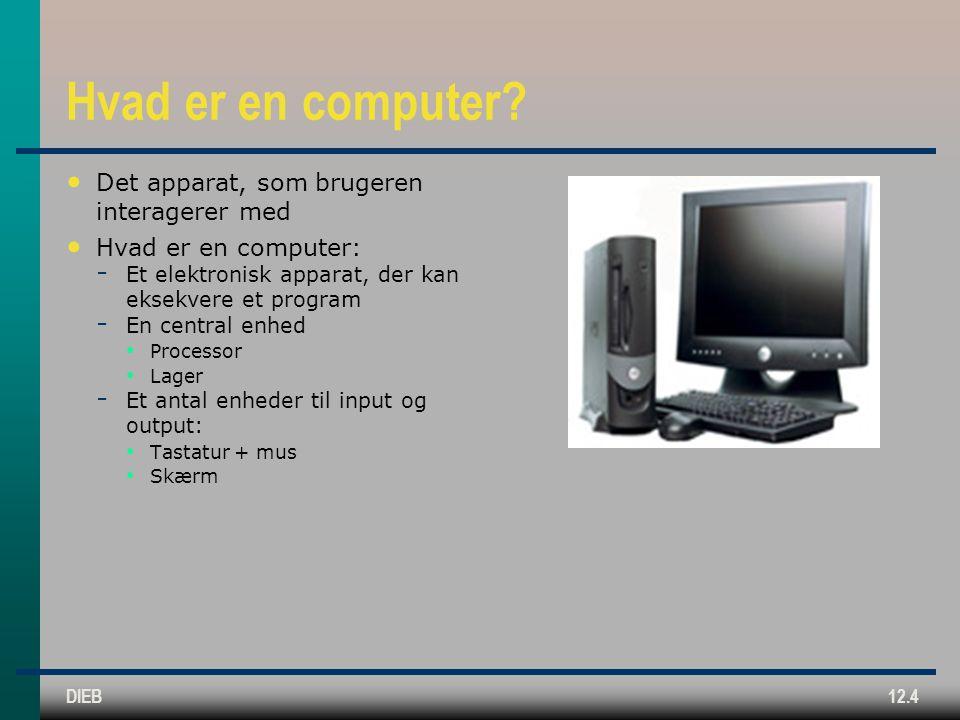 DIEB12.4 Hvad er en computer.
