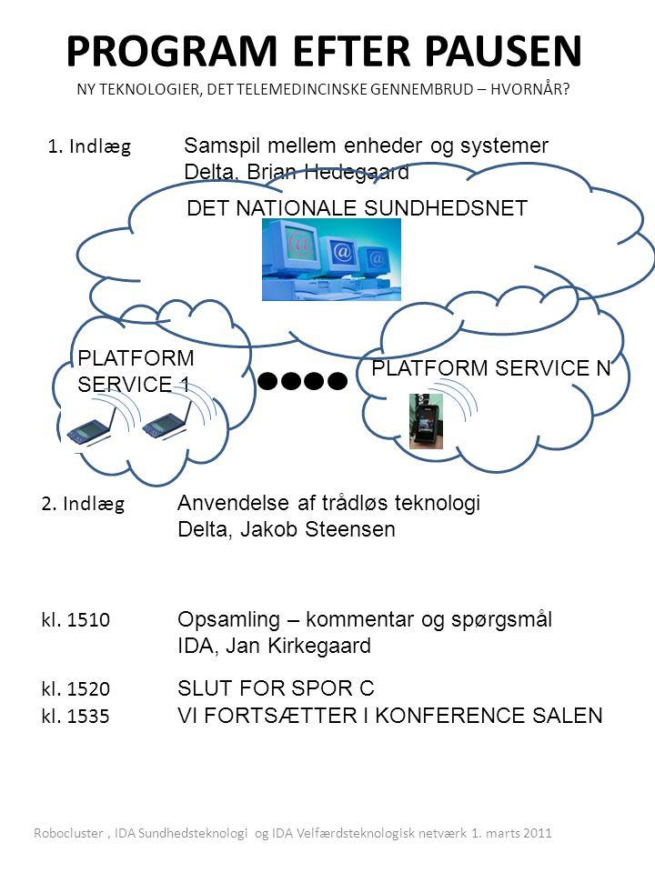 PROGRAM EFTER PAUSEN NY TEKNOLOGIER, DET TELEMEDINCINSKE GENNEMBRUD – HVORNÅR.