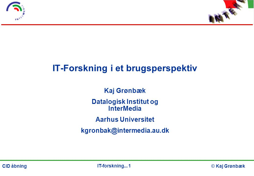 IT-forskning...