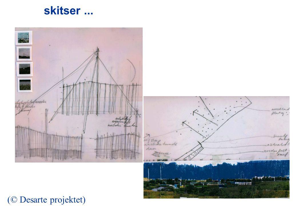 skitser... (© Desarte projektet)