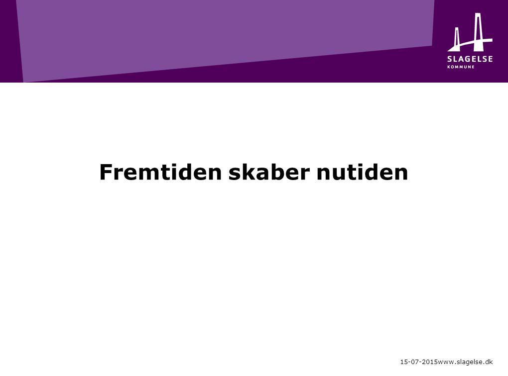Fremtiden skaber nutiden 15-07-2015www.slagelse.dk