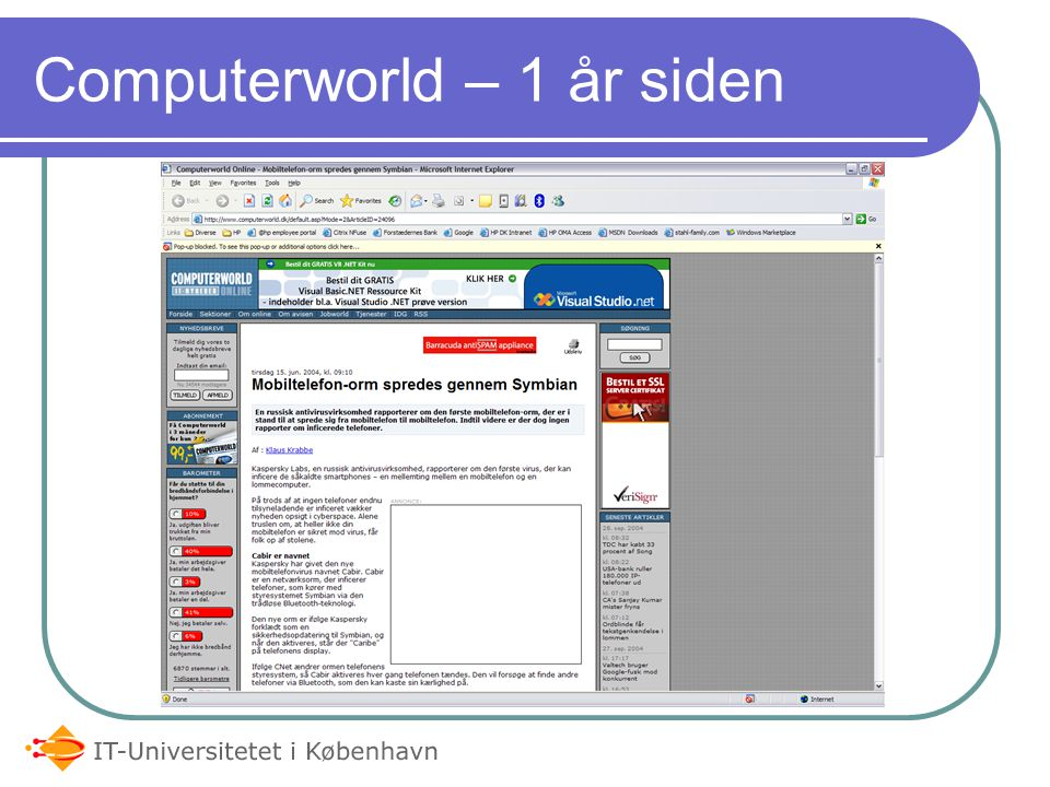 Computerworld – 1 år siden