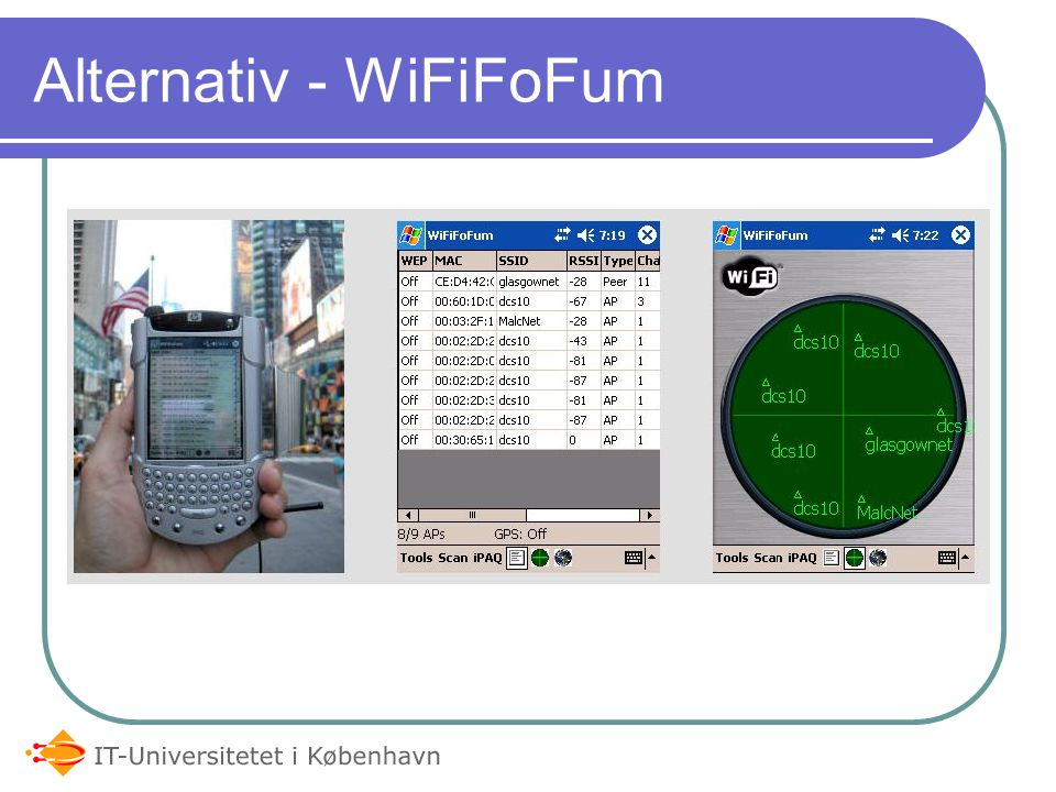 Alternativ - WiFiFoFum
