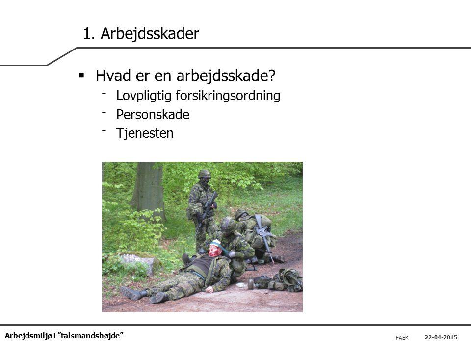 Arbejdsmiljø i talsmandshøjde FAEK 22-04-2015 1.