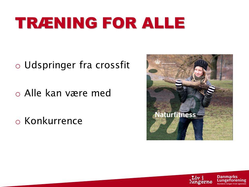 træning for alle
