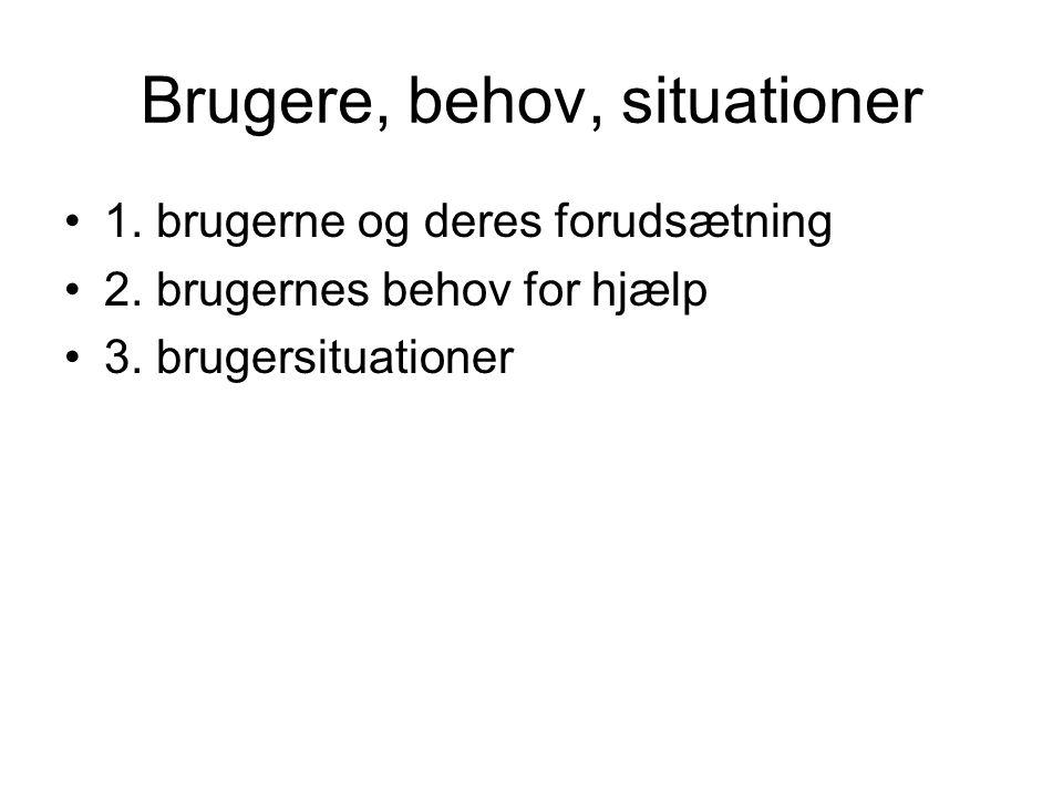 Bergenholtz/Tarp Ordbog som værktøj ved Kommunikationsrelaterede problemer Vidensrelaterede problemer Både kommunikations- og vidensrelaterede problemer
