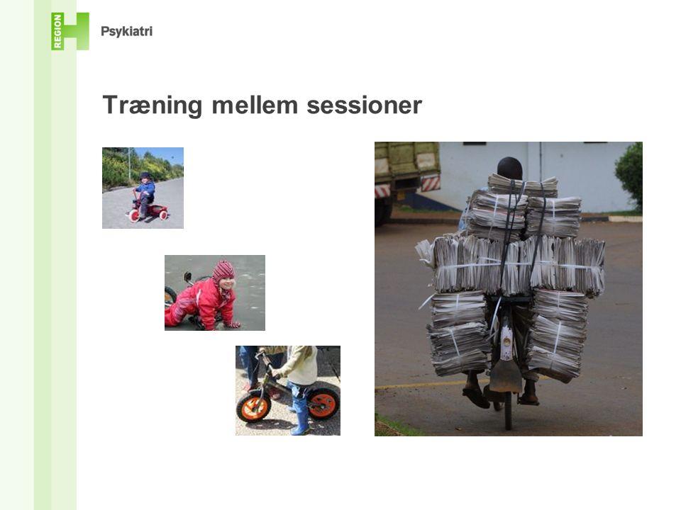 Træning mellem sessioner