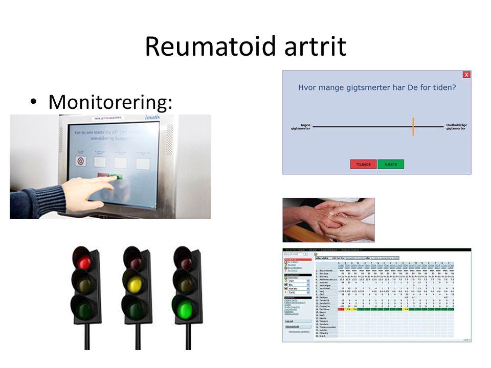 Reumatoid artrit Monitorering:
