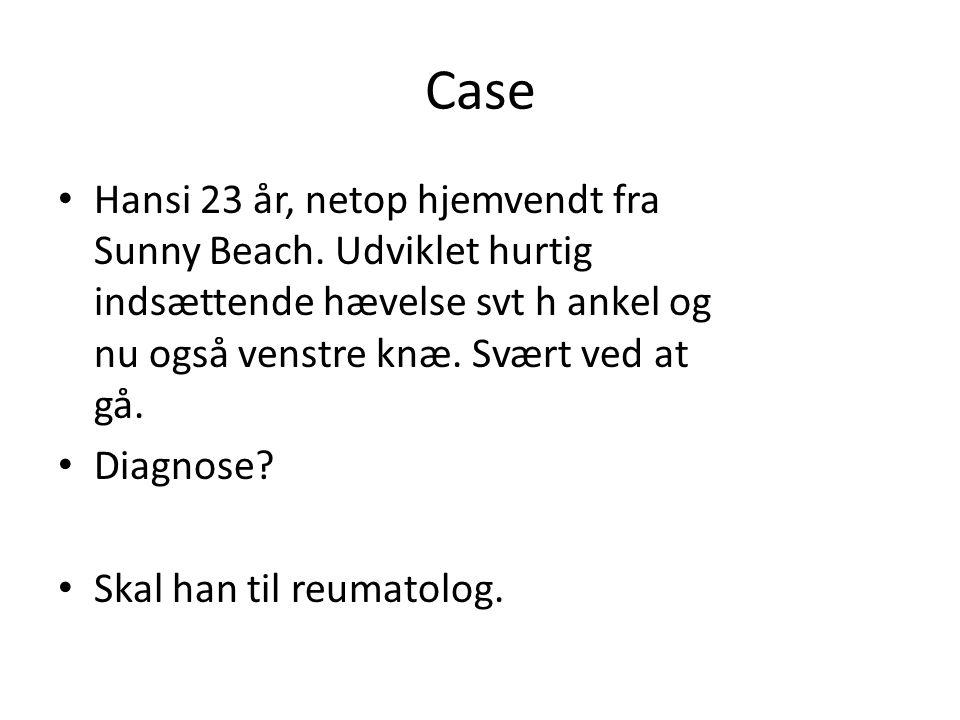 Case Hansi 23 år, netop hjemvendt fra Sunny Beach.