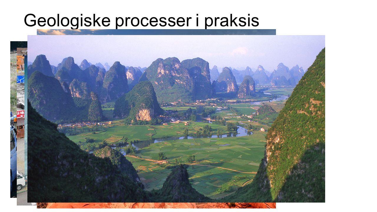 Geologiske processer i praksis