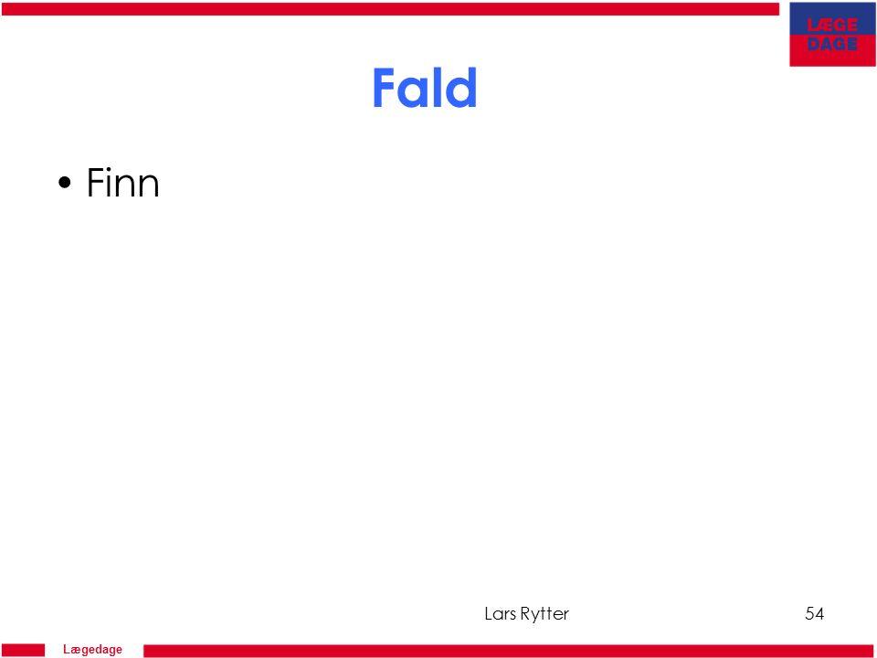 Lægedage Fald Finn Lars Rytter54